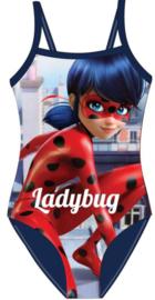 Ladybug badpak blauw mt. 110-116
