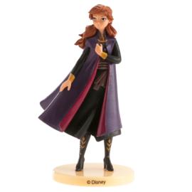 Disney Frozen 2 Anna taart topper 9,5 cm.
