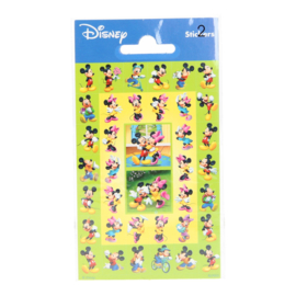Disney Mickey en Minnie Mouse mini stickers 2 vel