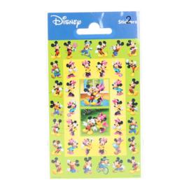 Disney Mickey en Minnie Mouse mini stickers 2 vel