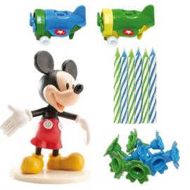 Disney Mickey Mouse taart decoratie set