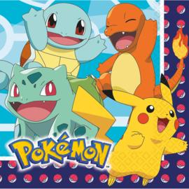 Pokémon servetten party 33 x 33 cm. 16 st.
