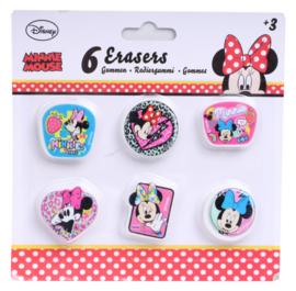 Disney Minnie Mouse uitdeel gum 6 st.