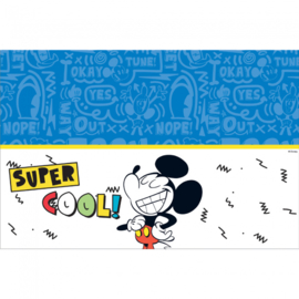 Disney Mickey Mouse Super Cool tafelkleed 120 x 180 cm.