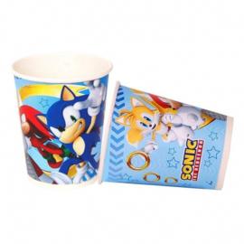 Sonic bekertjes 8 st.