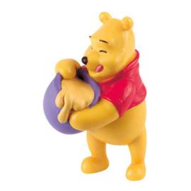 Disney Winnie de Poeh taart topper decoratie 6,5 cm.