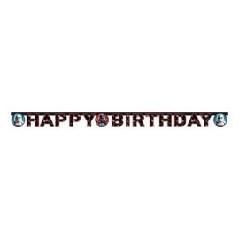 Star Wars letterslinger happy birthday 1,6 mtr.