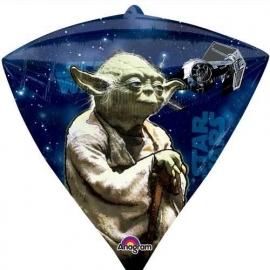 Star Wars Diamondz folieballon 38 x 43 cm.