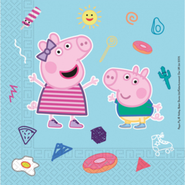 Peppa Pig servetten Star Shine 33 x 33 cm. 20 st.