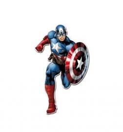 Avengers Assemble Captain America hangdecoratie 100 cm.