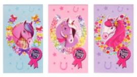 Paarden mini notitieboekje Perfect Pony Club p/stuk