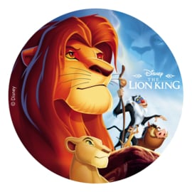 Disney The Lion King frosting taart decoratie ø 20 cm.