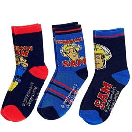 Brandweerman Sam sokken A mt. 31-34 (3 paar)