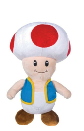 Super Mario Bros pluche knuffel Toad 25 cm.