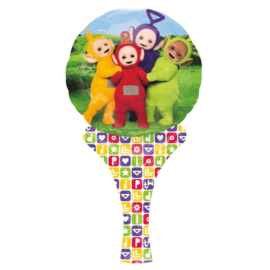 Teletubbies hand folieballon 15 x 30 cm.