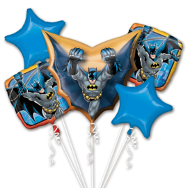 Batman folieballonnen boeket 5-delig