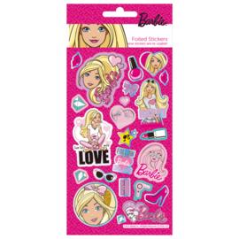 Barbie herbruikbare stickers