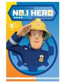 Brandweerman Sam fleecedeken No. 1 Hero 100 x 150 cm.
