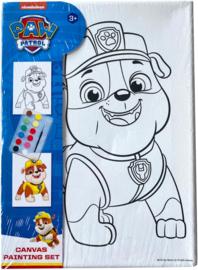 Paw Patrol Rubble canvas schilderset