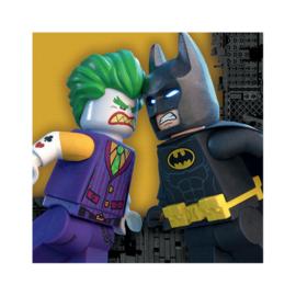 Lego Batman servetten 33 x 33 cm. 20 st.