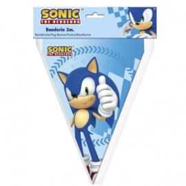 Sonic The Hedgehog vlaggenlijn 3 mtr.