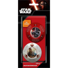 Star Wars The Force Awakens cupcake vormpjes 30 st.
