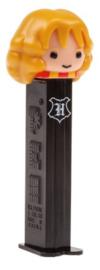 Harry Potter Hermione PEZ dispenser en 3 reepjes snoep