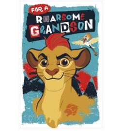 Disney The Lion Guard verjaardagskaart kleinzoon (pop-up)
