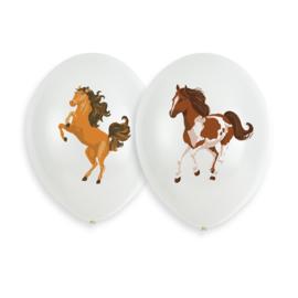 Paarden ballonnen Beautiful Horses ø 27,5 cm. 6 st.