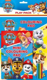 Paw Patrol kleurboek en kleurpotloden