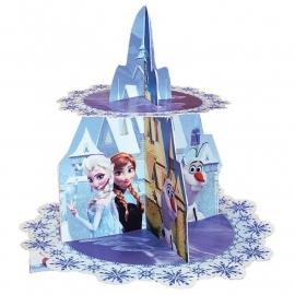 Disney Frozen cupcake standaard 2-laags