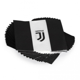 Juventus servetten 33 x 33 cm. 20 st.