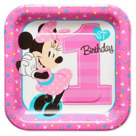Disney Minnie Mouse 1e verjaardag feestartikelen