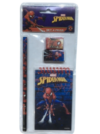 Spiderman schoolset 4-delig