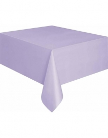 Lavendel tafelkleed 274 x 137 cm.