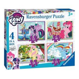 My Little Pony puzzel 12 - 16 - 20 - 24 stukjes