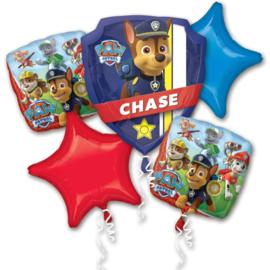Paw Patrol folieballonnen boeket 5-delig