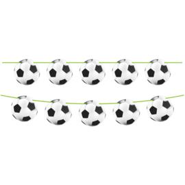 Voetbal vlaggenlijn 10 mtr.