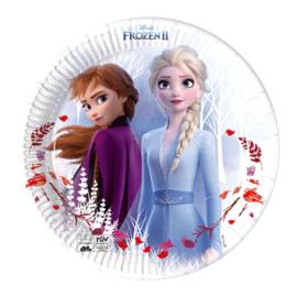 Disney Frozen 2 gebakbordjes Destiny Awaits ø 19,5 cm. 8 st.