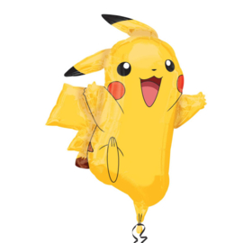 Pokemon Pikachu folieballon XL 62 x 78 cm.