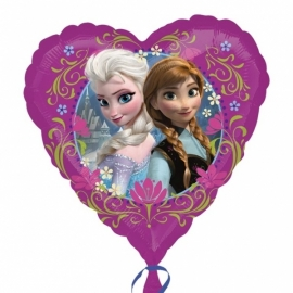 Disney Frozen hart folieballon 45 cm.