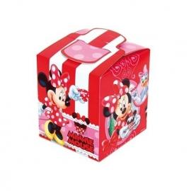 Disney Minnie Mouse traktatiedoosje 9,5 x 9,5 x 11 cm.