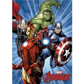 Avengers fleecedeken 100 x 150 cm.