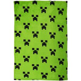 Minecraft fleecedeken Creeper 100 x 150 cm.