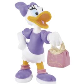 Disney Katrien met handtas taart topper decoratie 6 cm.