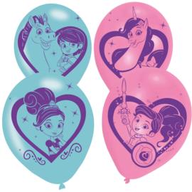 Nella de Ridder Prinses ballonnen ø 28 cm. 6 st.