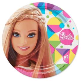 Barbie bordjes Sparkle ø 23 cm. 8 st.
