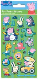Peppa Pig George herbruikbare stickers B