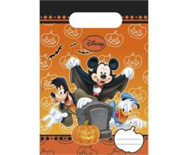 Disney Mickey Halloween traktatiezakjes 6 st.