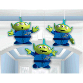 Disney Toy Story honeycomb decoratie 3 st.